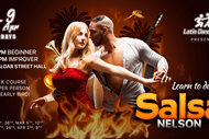 Image for event: 8-week Salsa Course - Beginner