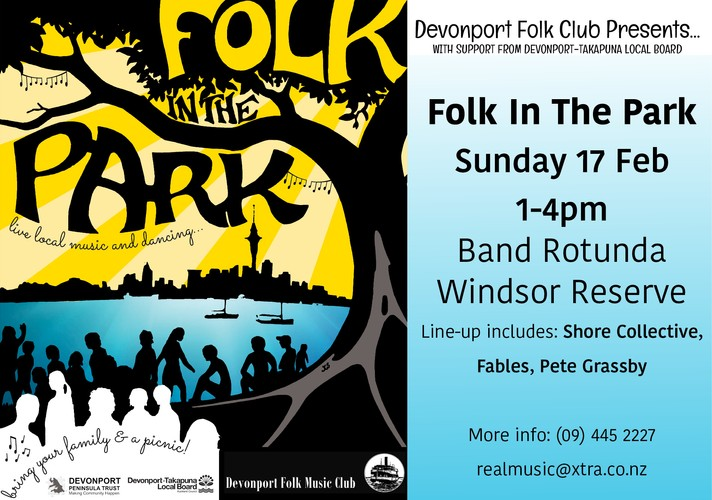 Folk In the Park Music Festival - Auckland - Eventfinda