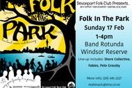 Image for event: Folk In the Park Music Festival