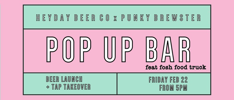 Heyday Beer Co Pop-Up Bar