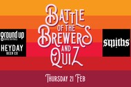Image for event: Battle Of The Brewers Pub Quiz