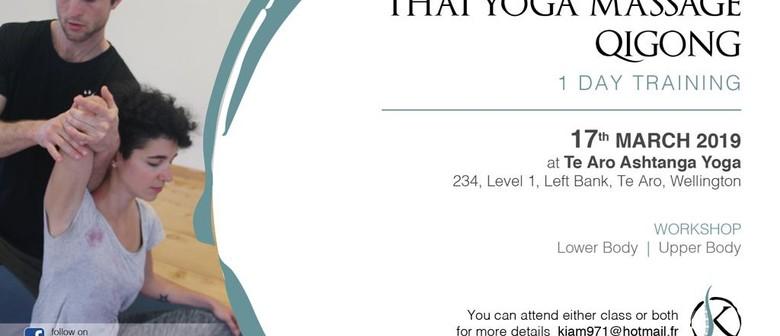 Thai Yoga Massage/Qigong 1 Day Training
