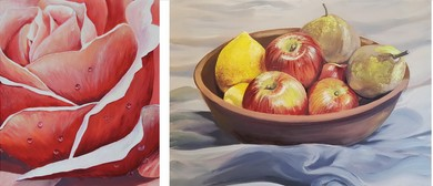 Acrylic Painting Classes - Still Life - Everyday Objects