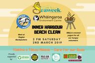 Image for event: Marine Matters Seaweek Raglan Harbour Beach Clean
