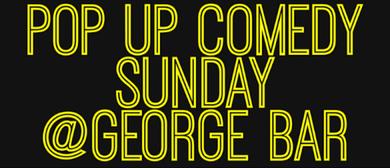 Pop Up Comedy Sunday