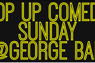 Image for event: Pop Up Comedy Sunday