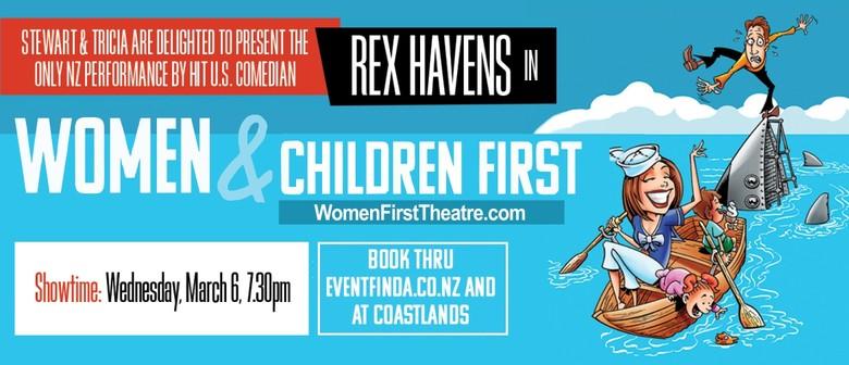 REX HAVENS - US Comedian