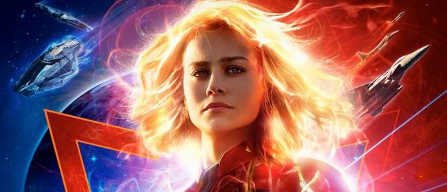 Heels & Reels: Captain Marvel Advanced Screening