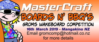 Mastercraft Boards n' BBQ's Groms Wakeboard Competition