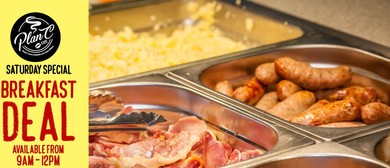 All You Can Eats Breakfast Buffet