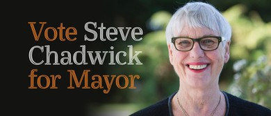 Vote Steve Chadwick for Mayor 2019 - Our Time to Shine