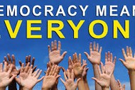 Image for event: Discovering Democracy