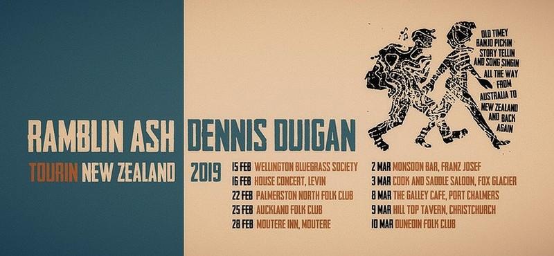 Dennis Duigan and Ramblin' Ash