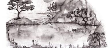 Zen Brush Painting Landscapes for Beginners