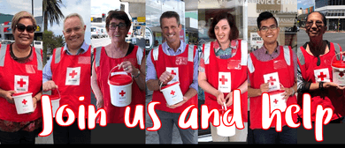 New Zealand Red Cross Annual Street Appeal: Volunteers Neede