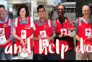 Image for event: New Zealand Red Cross Annual Street Appeal: Volunteers Neede