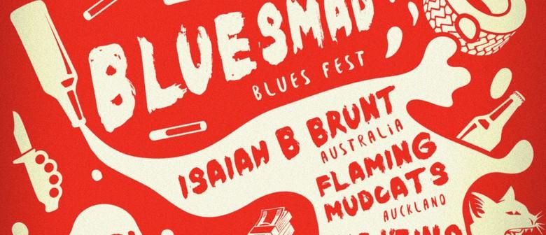 Isaiah B Brunt Trio Voodoo Tour NZ Blues Mad Bluesfest