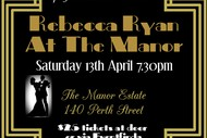 Image for event: Rebecca Ryan At the Manor