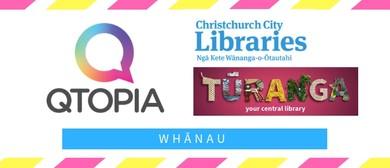 Qtopia Whānau - For LGBT+ under 13's & Rainbow Whānau