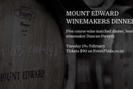 Image for event: Mount Edward Winemakers x Williams Eatery Dinner