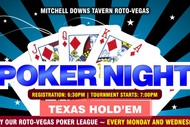 Image for event: Poker Night – Texas Hold'em Tournament: CANCELLED