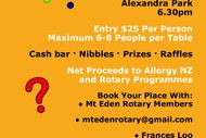 Image for event: Mt Eden Rotary Quiz Night
