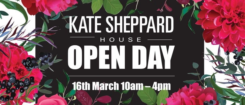 Kate Sheppard House & Garden Open Day