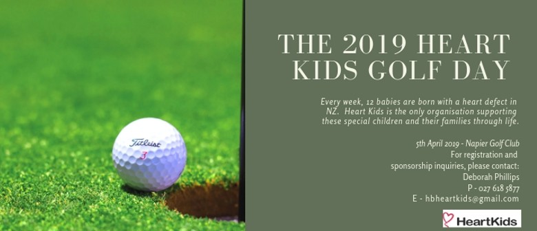 Heart Kids Hawkes Bay Annual Golf Day