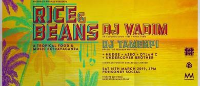 Rice & Beans with DJ Vadim (UK), DJ Tamenpi (Brazil)