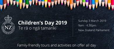 Children's Day at NZ Parliament
