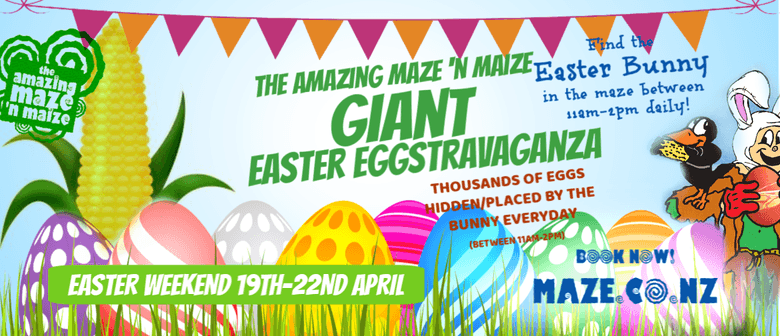 The Amazing Maze N Maize Giant Easter Eggstravaganza 2019