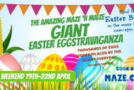 Image for event: The Amazing Maze N Maize Giant Easter Eggstravaganza 2019