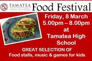 Tamatea High School Food Festival