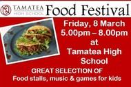 Tamatea High School Food Festival