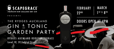 The Rydges Auckland: Gin & Tonic Garden Party