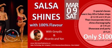 Salsa Shines with 100% Flavour at ACF19