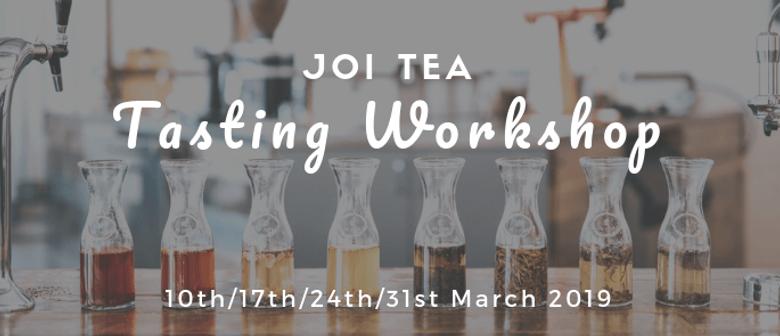 Joi Tea Tasting Workshop