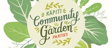 Raumati Village Community Garden Party