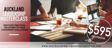 Auckland Leadership Masterclass with Mark Wager