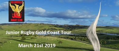 Gibbs Farm Visit Helensville Junior Rugby Gold Coast Tour