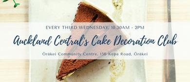 Auckland Central's Cake Decoration Club