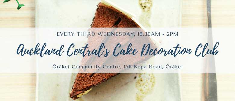 Auckland Central's Cake Decoration Club