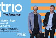 Image for event: NZTrio: The Americas