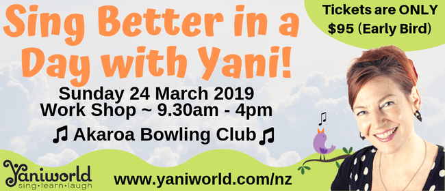 Sing Better In a Day With Yani