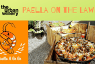 Paella On the Lawn