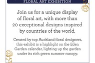 Image for event: Wonderful World of Flowers
