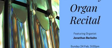 Organ Recital Series 2019 - Jonathan Berkahn
