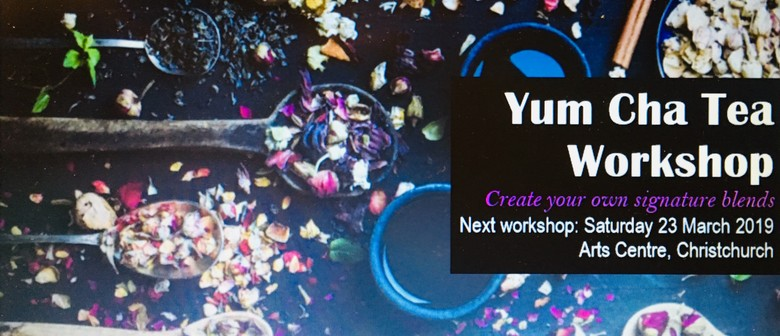 Yum Cha Tea Workshop: CANCELLED
