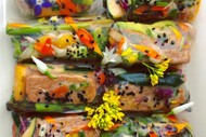Eat a Rainbow Kids Cooking Classes Rice Rolls