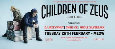 Children of Zeus: DJ Jazzywhut, Chris CK & Uncle Silverback
